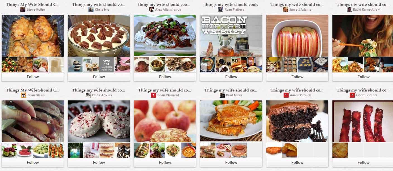 Cuisine pinterest permet des tas de recettes originales for Cuisine originales