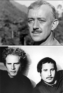 What do Alec Guinness and Simon & Garfunkel Have in Common?