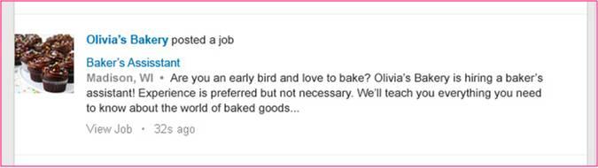 LinkedIn Job Posting