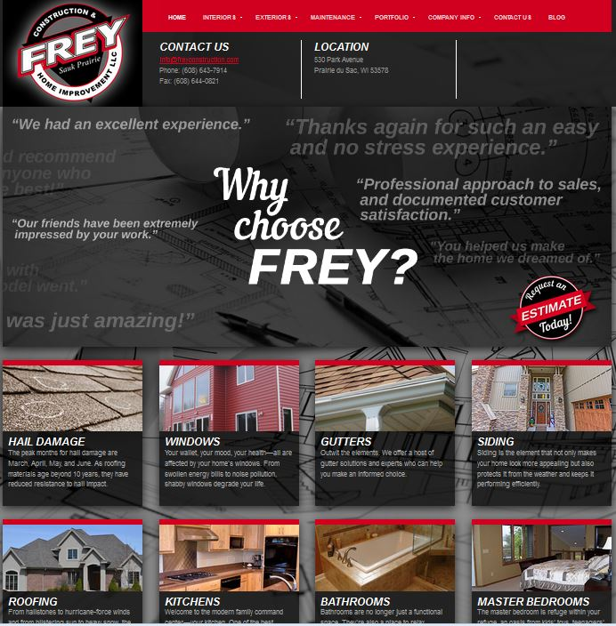 frey construction madison wi