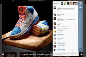 A closer look at the comments on Instagram's new web profiles