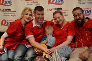 American Family Children's Hospital Radiothon with Q106